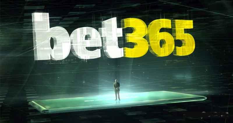 Interfaccia app Bet365